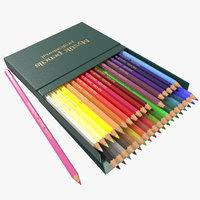 3D colored pencils