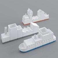 seletti desk porcelain model