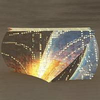prism glass building 3D model