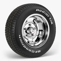 3D bfgoodrich indy mag wheel