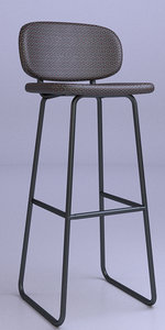 3D barstool stool