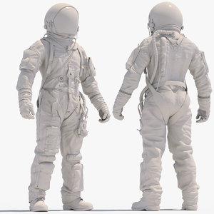 3D hi astronaut