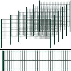 3D model wicket fence