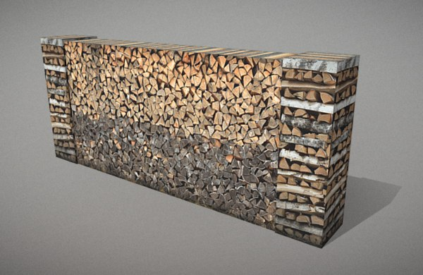 3D woodpile