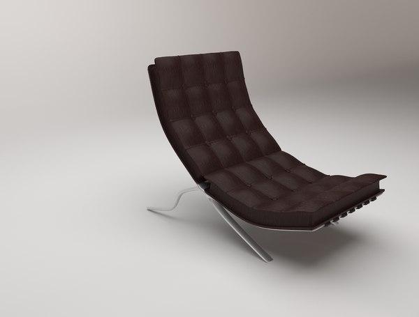 3D model furniture modellings