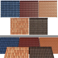 Metal tile and ceramic tile