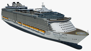 3D cruise vessel harmony seas