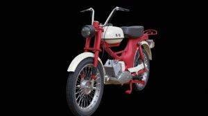3D moped riga model