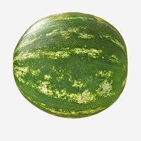 3D melon realistic model