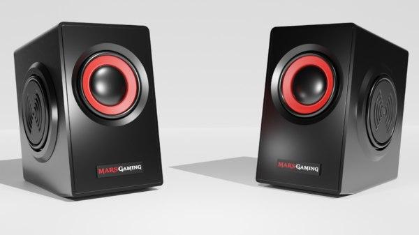 mars gaming speaker 3D model