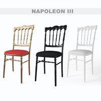 napoleon chair 3D