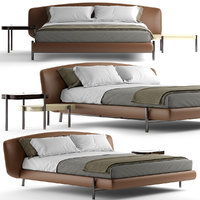 bed photorealistic 3D model