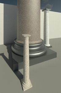 parametric tuscan column triglif model