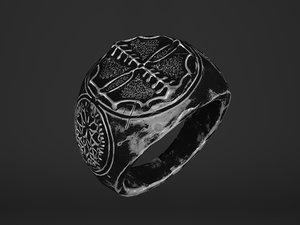 3D ring fantasy