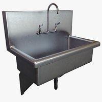 3D model wash station medical