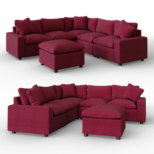 3D model savesto charcoal sectional