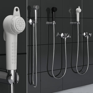 3D hygienic shower grohe trigger