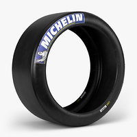 3d ma michelin race slick tire
