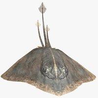 3D stingray animal