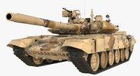3D tank t90a t