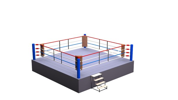 3D model competition boxing ring