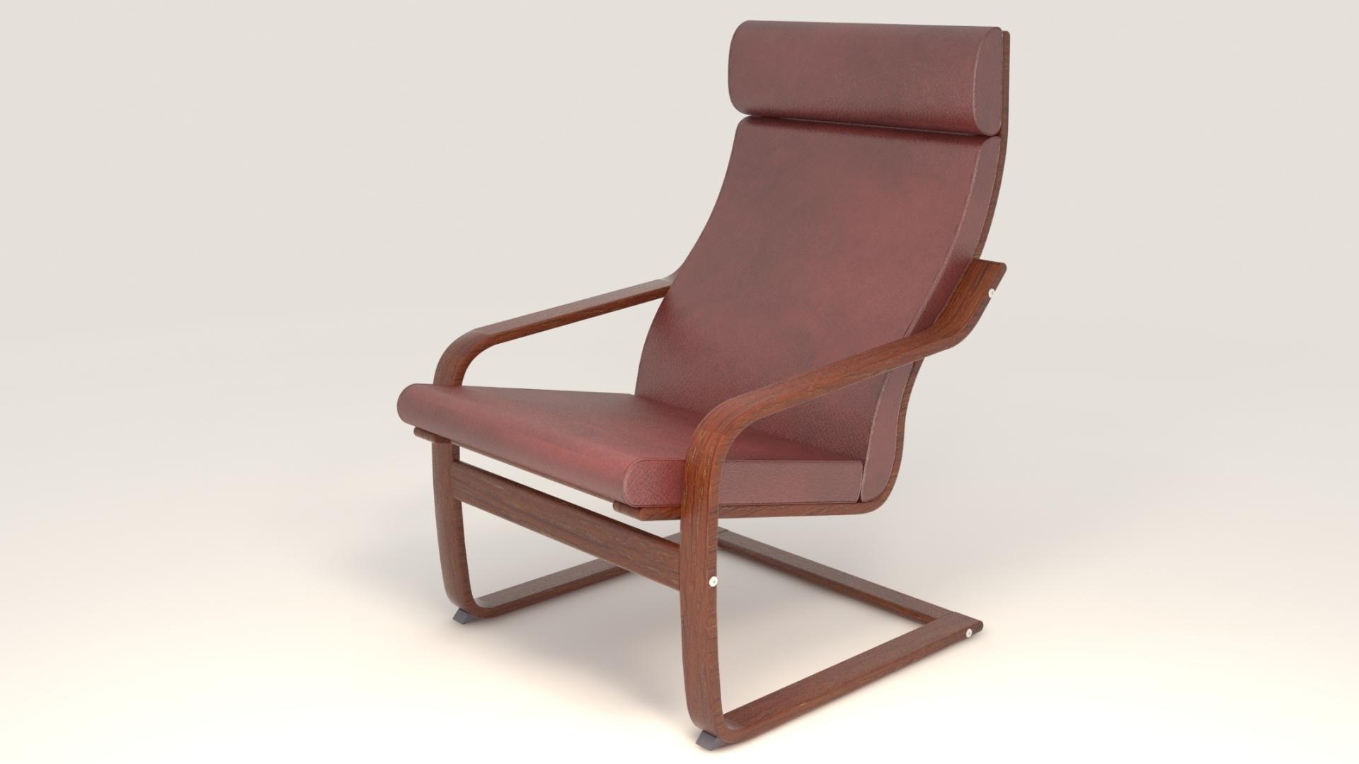 модель стула Poang Ikea