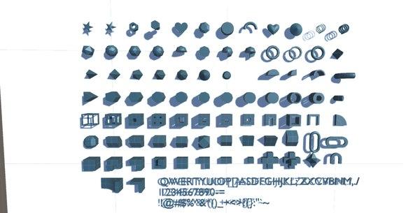 3D primitive 150