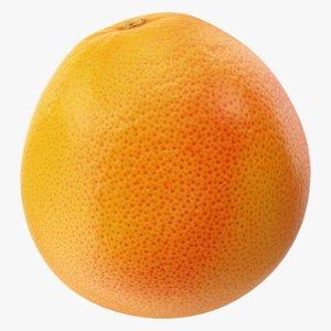 3D grapefruit 01