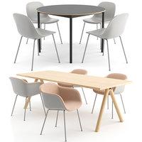 fiber chair table model