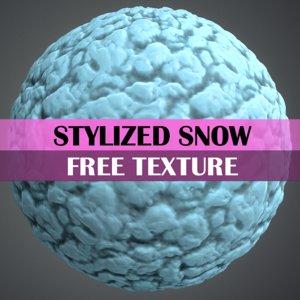Stylized Snow Texture