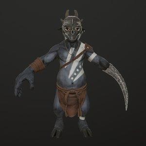 goblin soldier monster model