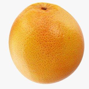 grapefruit 02 3D model