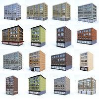 buildings city set model