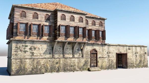 3D model house old s