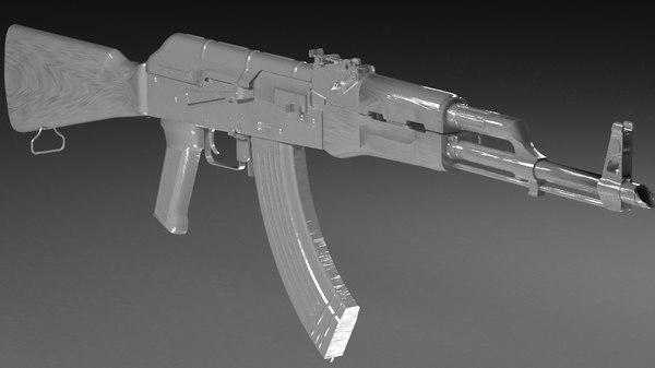 3D weapons gun