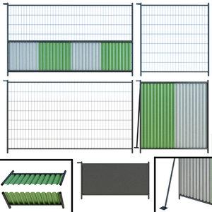 3D fence plot model