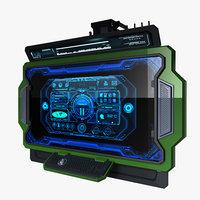 Sci-fi Monitor3