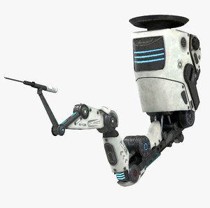 robotic arm 01 3D
