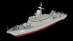 karakurt 22800 ships karakurt-class 3D model