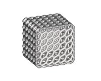 Patterned Cube