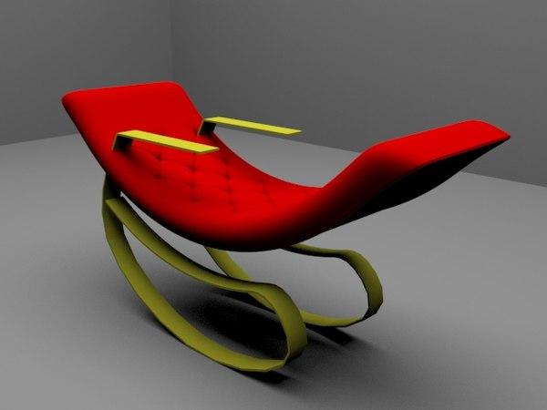 3D sallanan koltuk