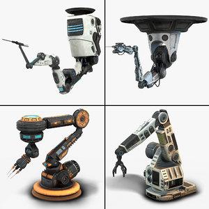 robotic arms 3D model