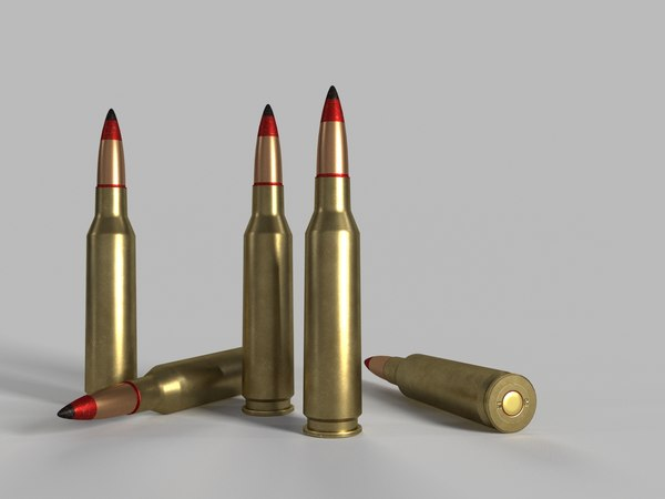 3D soviet russian cartridge 14