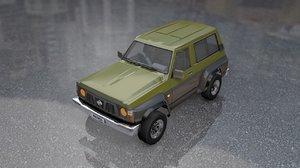 nissan patrol model