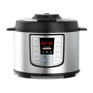 3D model silver pressure cooker
