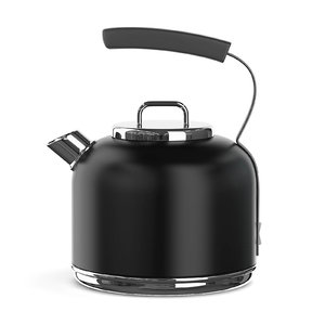 black electric kettle model