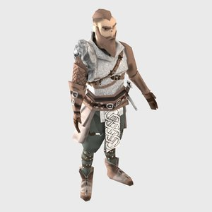 character viking 3D model