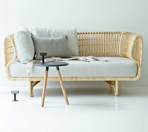 3D model nest 2-seater sofa