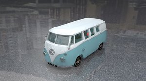 volkswagen type 2 kombi 3D model