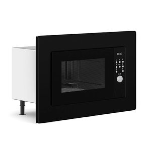 black microwave 3D model